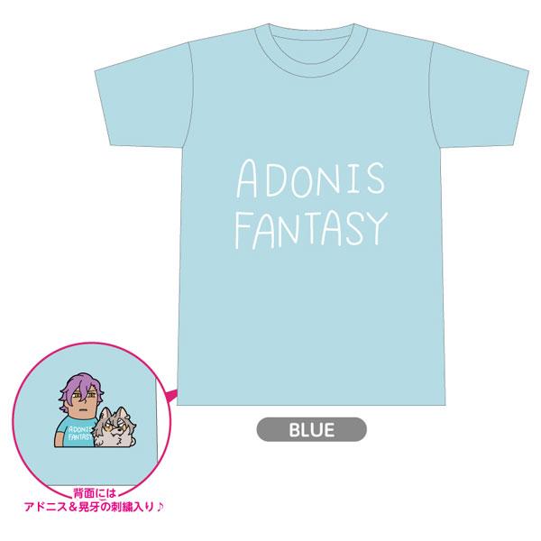 【限定販売】『あんさんぶくぶスターズ!』 アドニスTシャツ [BLUE]