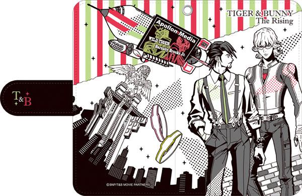 劇場版 TIGER & BUNNY -The Rising- 手帳型スマートフォンケース アニメ・キャラクターグッズ新作情報・予約開始速報