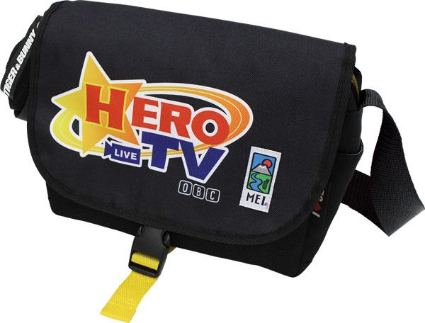 TIGER&BUNNY×MEI コラボバッグ HERO TV[スマイラル]《発売済・在庫品》