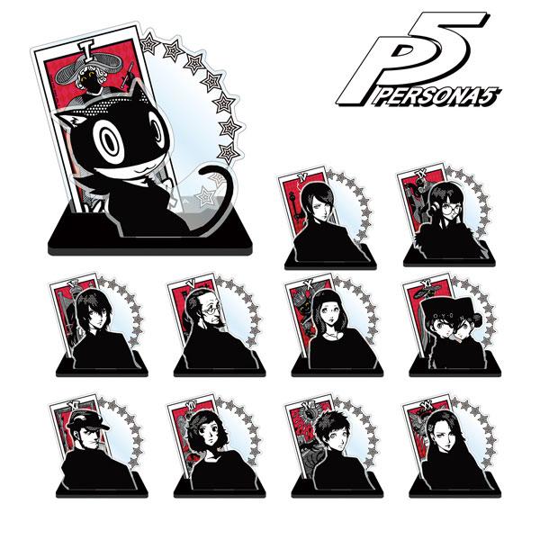 ペルソナ5 トレーディングアクリルスタンド(コープver.B) 11個入りBOX(再販)[アルマビアンカ]《07月予約》