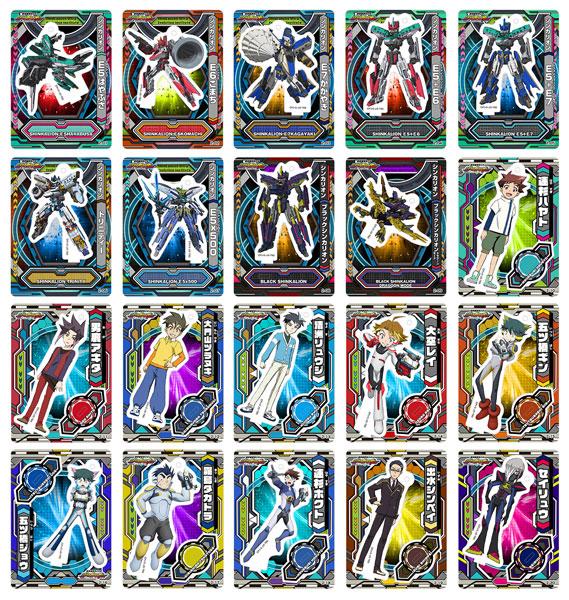 新幹線変形ロボ シンカリオン アクリルdeカード 第2弾 20個入りBOX[Brujula]《在庫切れ》