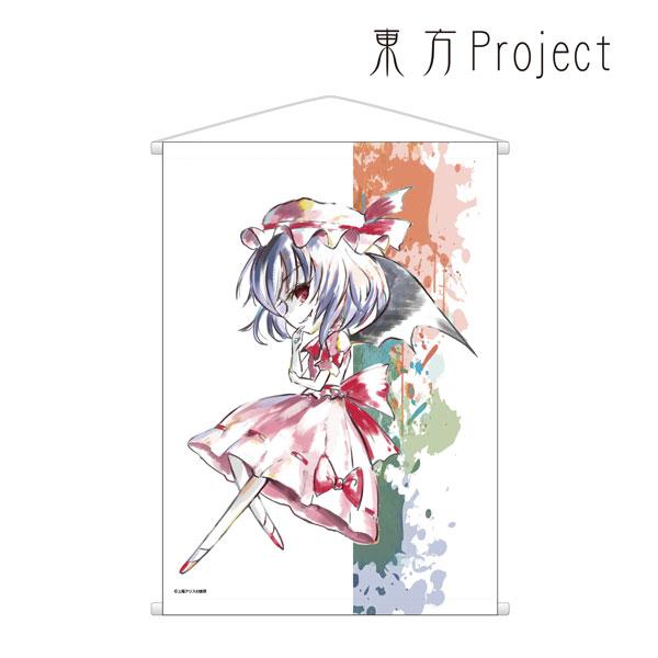 東方Project Ani-Artタペストリー(レミリア・スカーレット)[アルマビアンカ]【送料無料】《発売済・在庫品》