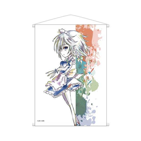 東方Project Ani-Artタペストリー(十六夜咲夜)[アルマビアンカ]《発売済・在庫品》