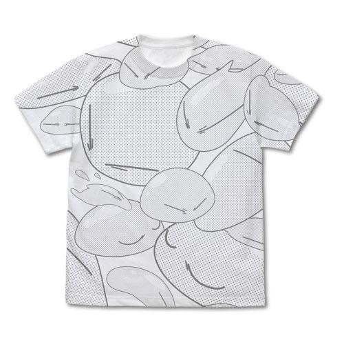 転生したらスライムだった件 リムル様 オールプリントTシャツ/WHITE-M(再販)[コスパ]《05月予約》