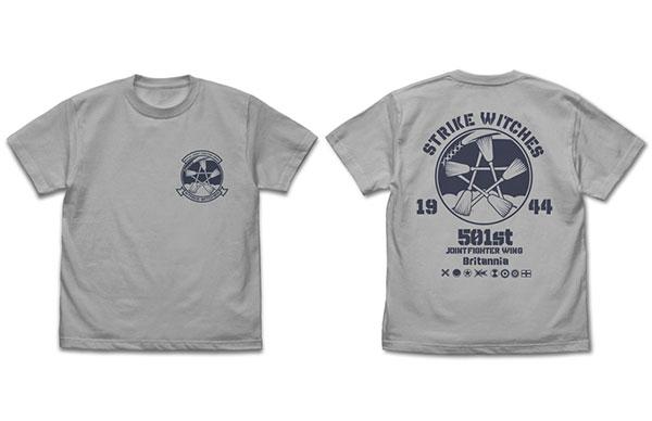ストライクウィッチーズ ROAD to BERLIN STRIKE WITCHES エンブレム Tシャツ/LIGHT GRAY-XL[コスパ]《在庫切れ》