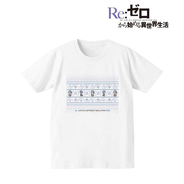 Re:ゼロから始める異世界生活 ノルディックデザインTシャツ(レム)/メンズ(サイズ/S)(再販)[アルマビアンカ]《08月予約》