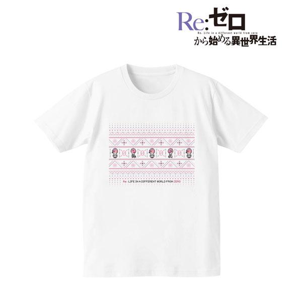 Re:ゼロから始める異世界生活 ノルディックデザインTシャツ(ラム)/レディース(サイズ/L)(再販)[アルマビアンカ]《08月予約》