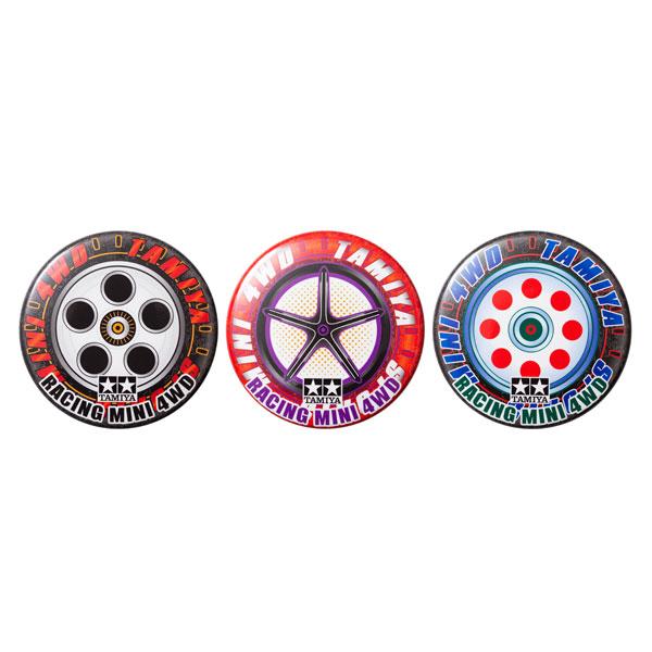 【限定販売】mini4wd 缶バッジコレクション GUP vol.2(タイヤ&ホイール 3種セット)[シナプス]【送料無料】《発売済・在庫品》