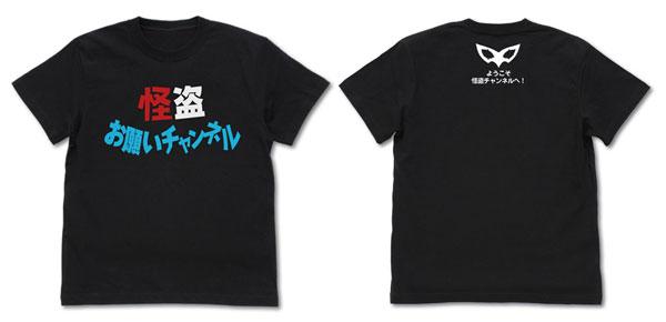 ペルソナ5(アニメ) 怪盗お願いチャンネル Tシャツ/BLACK-L(再販)[コスパ]《07月予約》