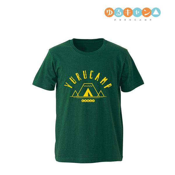 ゆるキャン△ カレッジデザインTシャツ/メンズ(サイズ/L)(再販)[アルマビアンカ]《在庫切れ》