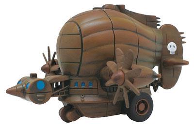 PBC-07 プルバックコレクション 天空の城ラピュタ タイガーモス(再販)[エンスカイ]《在庫切れ》