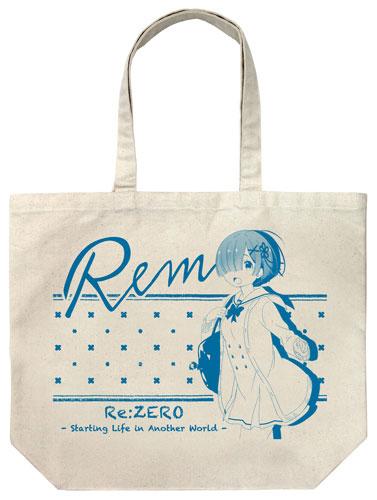 Re:ゼロから始める異世界生活 レム ラージトート 制服Ver./NATURAL(再販)[コスパ]《在庫切れ》