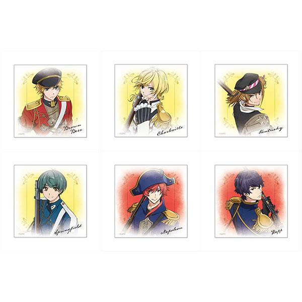 千銃士 トレーディングぷちキャンバスコレクション 6個入りBOX[Y Line]《在庫切れ》
