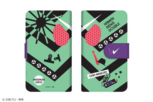 平成仮面ライダーシリーズ ダイアリースマホケース for マルチサイズ[M] 02 仮面ライダーダブル[ショウワノート]《在庫切れ》