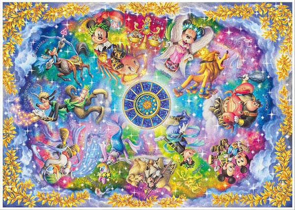 ジグソーパズル ディズニー 美しき神秘の星座たち 1000ピース (DW1000-003)[テンヨー]《在庫切れ》