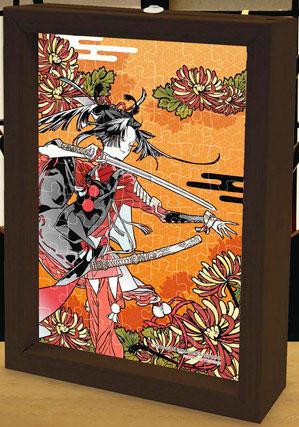 プリズムアートプチ ジグソーパズル 小烏丸(菊) 70ピース(97-203)[やのまん]《在庫切れ》