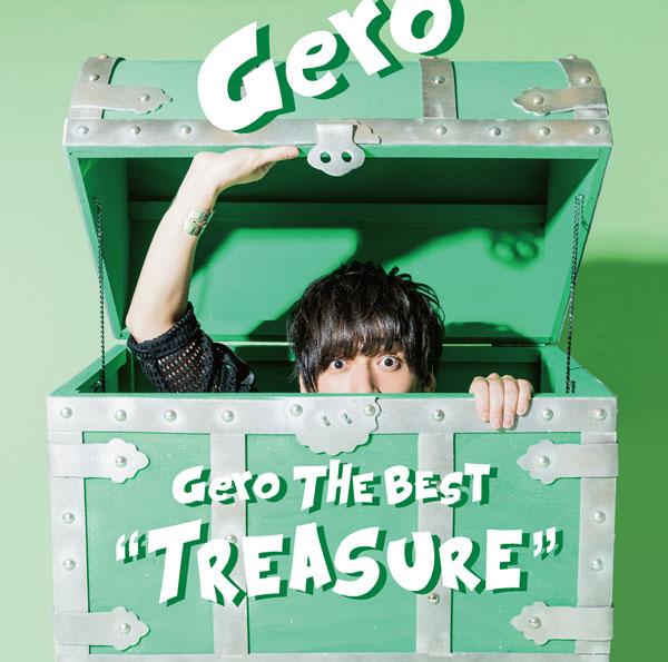 "CD Gero The Best ""Treasure"" 初回限定盤A[NBC]《取り寄せ※暫定》"