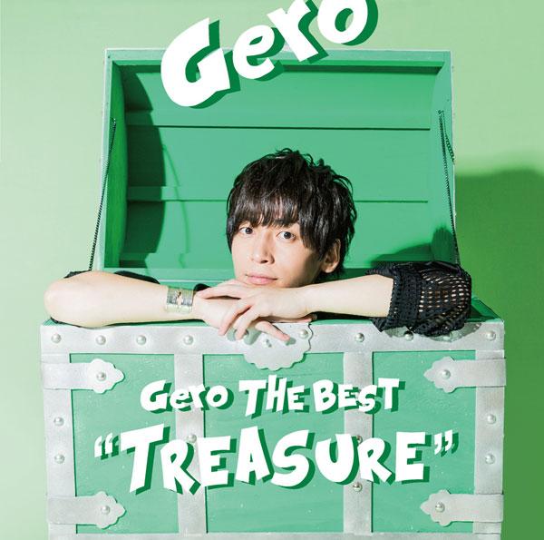 "CD Gero The Best ""Treasure"" 初回限定盤B[NBC]《取り寄せ※暫定》"