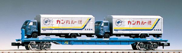 2770 私有貨車 クム80000形(4tトラック2台付)(再販)[TOMIX]《発売済・在庫品》