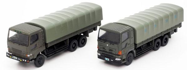 ザ・トラックコレクション 自衛隊 特大型トラックセット[トミーテック]《発売済・在庫品》
