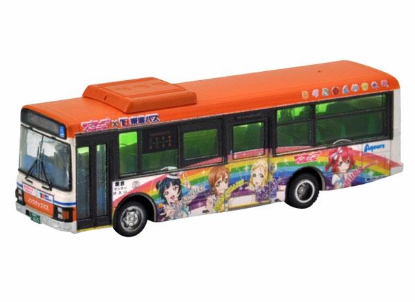 ザ・バスコレクション 東海バスオレンジシャトル ラブライブ!サンシャイン!!ラッピングバス2号車[トミーテック]《在庫切れ》