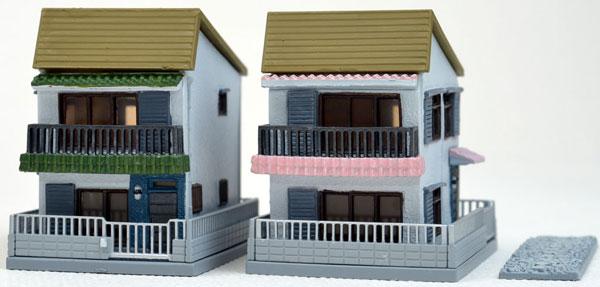 建物コレクション 040-4 建売住宅A4(再販)[トミーテック]《発売済・在庫品》