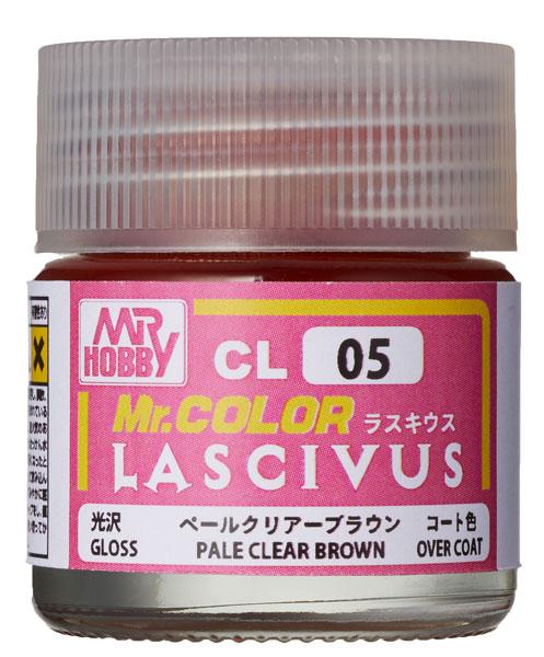 Mr.カラー LASCIVUS(ラスキウス) クリアーペールブラウン 10ml 〈光沢〉[GSIクレオス]《発売済・在庫品》