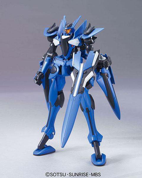 HG 劇場版 機動戦士ガンダム00 1/144 ブレイヴ指揮官用試験機 プラモデル(再販)[BANDAI SPIRITS]《在庫切れ》