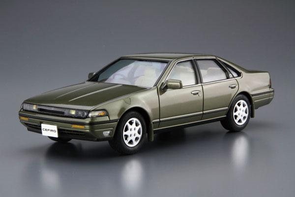 ザ・モデルカー No.91 1/24 ニッサン A31 セフィーロ '91 プラモデル[アオシマ]《08月予約》