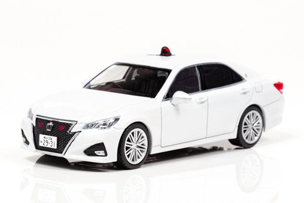 1/43 トヨタ クラウン アスリート (GRS214) 2017 神奈川県警察高速道路交通警察隊車両 (覆面)[RAI'S]【送料無料】《在庫切れ》