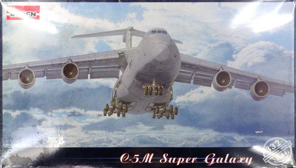 1/144 米ロッキードC-5M近代改装型スーパーギャラクシー戦略輸送機 プラモデル[ローデン]《在庫切れ》