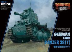 WWT ドイツ軽戦車38(t) プラモデル[MENG Model]《08月予約》