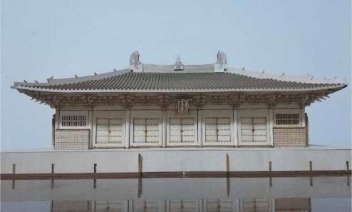 1/100 仏光寺 (ぶっこうじ) 東大殿 木製[Artist Hobby]【送料無料】《在庫切れ》