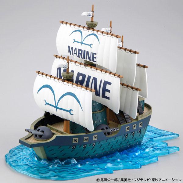 ワンピース 偉大なる船(グランドシップ)コレクション 海軍軍艦 プラモデル(再販)[BANDAI SPIRITS]《10月予約》