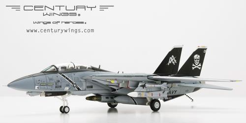1/72 F-14B アメリカ海軍 第103戦闘飛行隊 ジョリーロジャース空母ドワイト・D・アイゼンハワー搭載 98年 AA101[センチュリーウイングス]《発売済・在庫品》