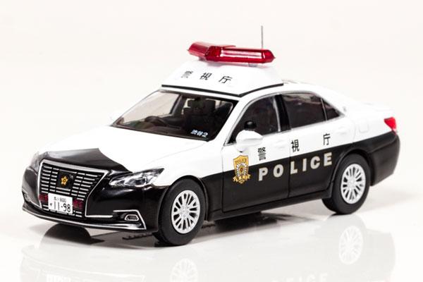 1/43 トヨタ クラウン ロイヤル (GRS210) 2016 警視庁所轄署地域警ら車両[RAI'S]《在庫切れ》