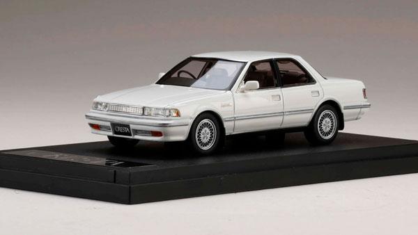 1/43 トヨタ クレスタ 3.0 スーパー ルーセント G ホワイトパールマイカ[MARK43]《02月予約》