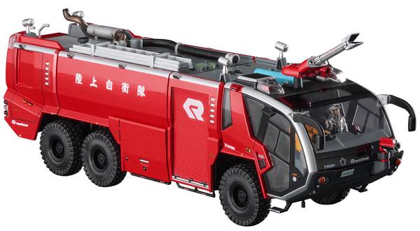 1/72 ローゼンバウアー パンサー 6×6 空港用化学消防車 プラモデル(再販)[ハセガワ]《06月予約》