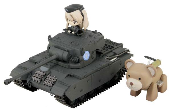 巡航戦車A41センチュリオン エンディングVer.DX ヴォイテク付き 島田愛里寿フィギュア1体付き 塗装済み完成品[ぺあどっと]《11月予約》