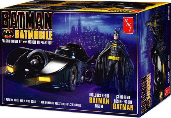 1/25 バットモービル(1989) バットマンフィギュア付属 プラモデル[AMT]《在庫切れ》