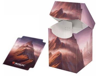 マジック:ザ・ギャザリング [アンステイブル] 大型デッキボックス/山[Ultra・PRO]《在庫切れ》