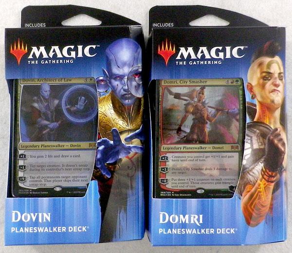 マジック:ザ・ギャザリング ラヴニカの献身 英語版 プレインズウォーカーデッキ 2種セット[Wizards of the Coast]《在庫切れ》