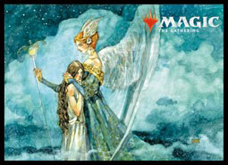 マジック:ザ・ギャザリング プレイヤーズカードスリーブ『アルティメットマスターズ』≪蘇生の天使≫(MTGS-066) パック[エンスカイ]《03月予約》
