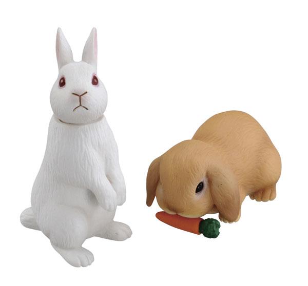 アニア AS-34 ウサギ(日本白色種&ロップイヤー)[タカラトミー]《在庫切れ》