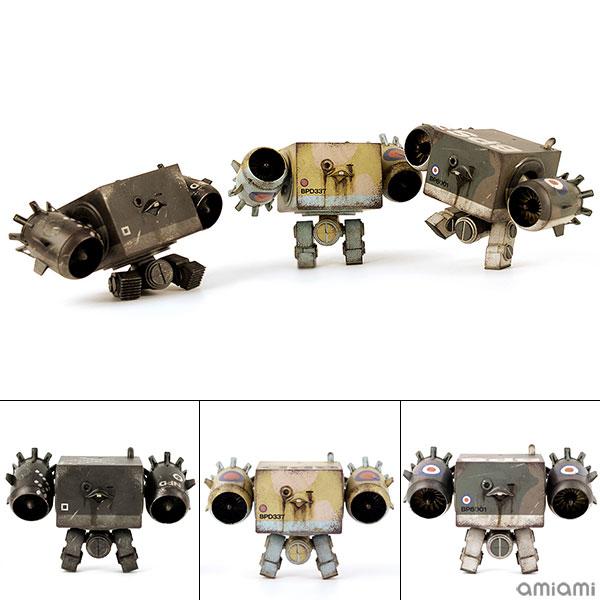 ワールド・ウォー・ロボット 3AGO V-TOLスクウェア・セット 1/9 可動フィギュア