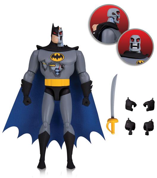 バットマン アニメイテッド 6インチ DCアクションフィギュア バットマン(H.A.R.D.A.C./アニメイテッドシリーズ版)[DCコレクティブル]《在庫切れ》