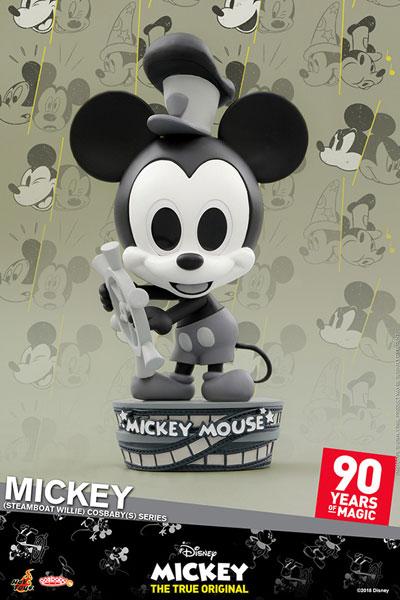 コスベイビー 『ミッキーマウス スクリーンデビュー90周年』[サイズS]ミッキーマウス(『蒸気船ウィリー』版)[ホットトイズ]《在庫切れ》