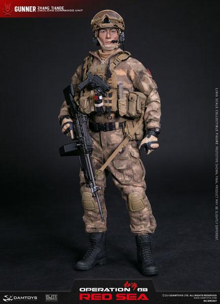 1/6 オペレーション:レッド・シー 中国人民解放軍海軍 特種部隊 ガンナー ZHANG TIANDE