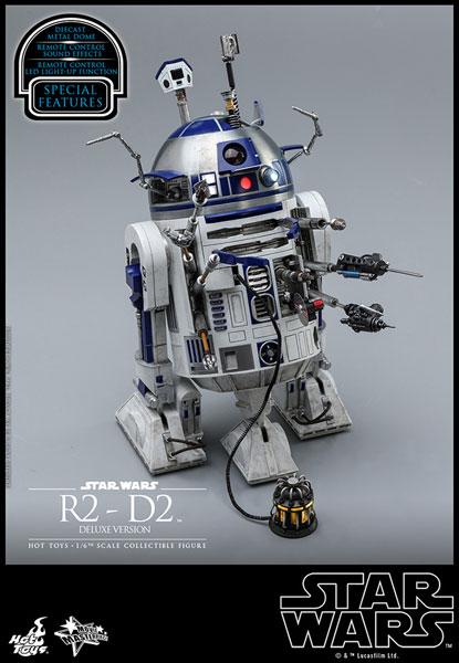 ムービー・マスターピース スター・ウォーズ 1/6 R2-D2 デラックス版 ※延期前倒し可能性大[ホットトイズ]【同梱不可】【送料無料】《11月仮予約》