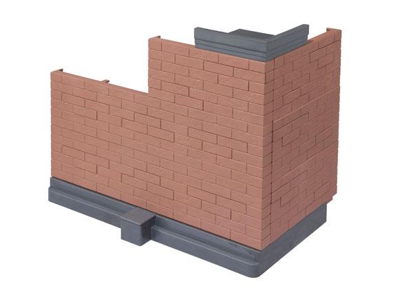 魂OPTION Brick Wall (Brown ver.)[BANDAI SPIRITS]《04月予約》